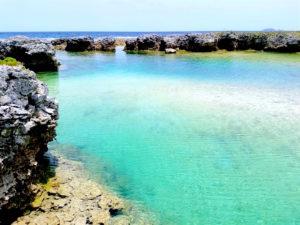 宝島の大籠海水浴場