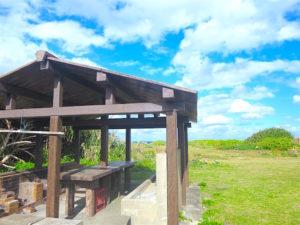 宝島のキャンプ場