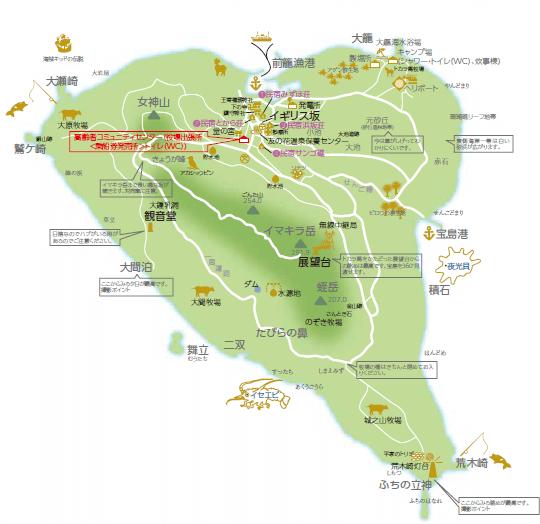 宝島の地図